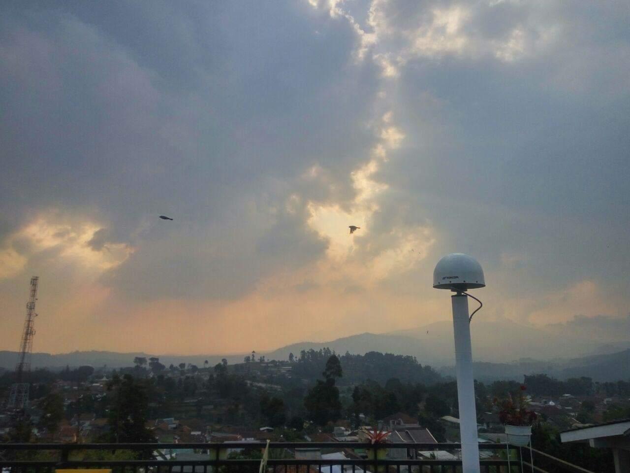 GNSS untuk pemantauan troposfer